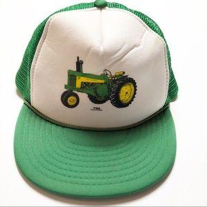 Vintage John Deer 730 Snapback Trucker Hat